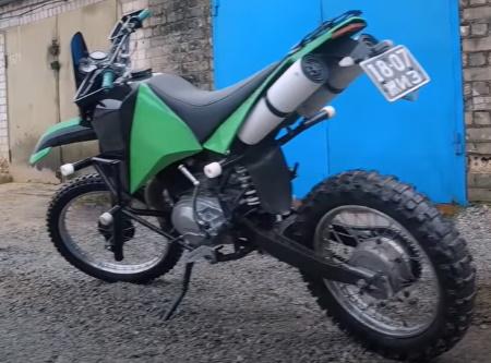 тюнинг мотоцикла Иж-Планета-5