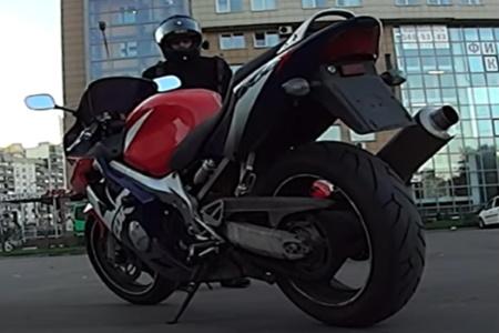мотоцикл спортбайк