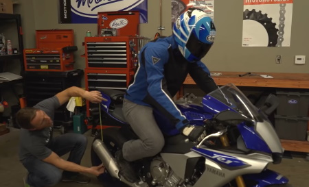 регулировка подвески мотоцикла